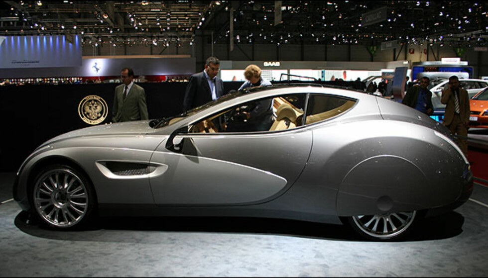 Super-luksusbil fra Russland: Russo-Baltique