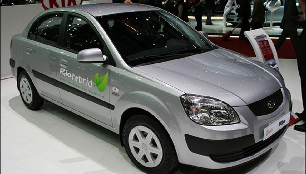 Kia Rio Hybrid.