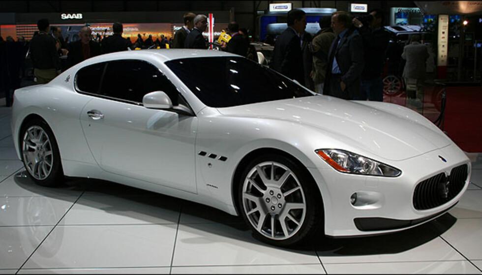 Maserati Granturismo.