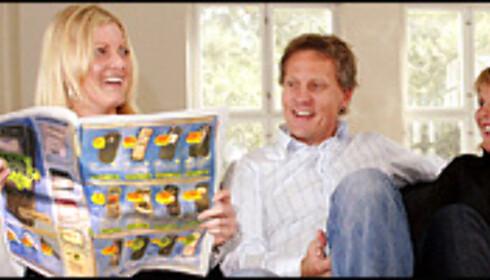 Også moderne familiestrukturer kan få nytte av  familieabonnementene. <i>Illustrasjon: Per Ervland</i>