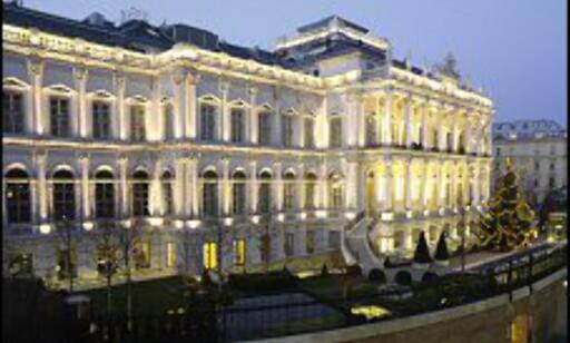 Majestetisk vinhotell i storbyen Wien. Foto: Palais Cobourg