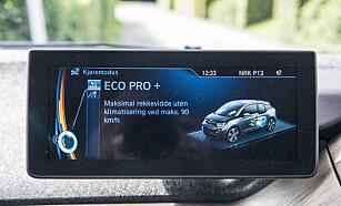 LADETID: For å lade bilen opp til 80 prosent skal det ta 3 timer. FOTO: JAMIESON POTHECARY