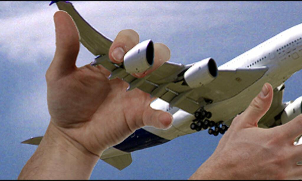 image: Hva tåler et fly?