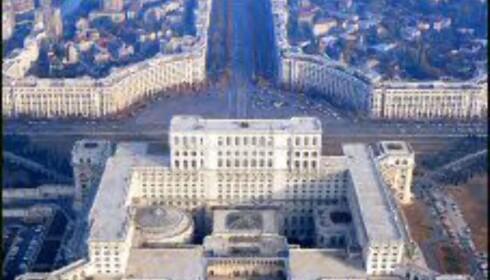 Parlamentpalasset er verdens nest største bygg.  Foto: Romania Tourism