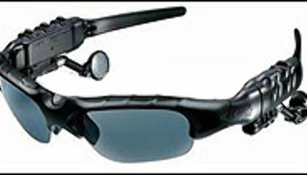 Briller med musikk, passende i skibakken? Foto: Wolf