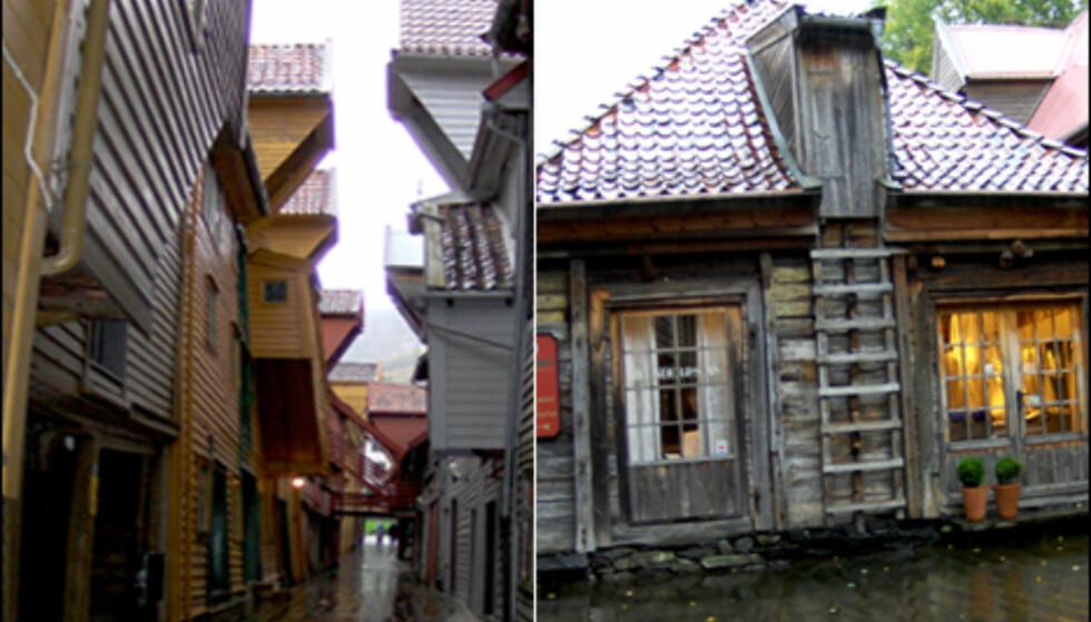 Bryggen gir deg en følelse av å gå tilbake i tid, forteller Alvheim fra Bergen Reiselivslag. Foto: Kim Jansson