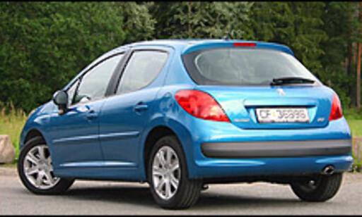 4. PLASS: Frankrike, her representert ved Peugeot 207.
