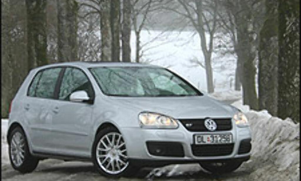 1. PLASS: Tyskland, her representert ved Volkswagen Golf.