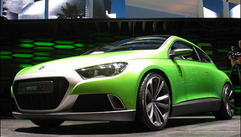 VW Iroc - kommende sportskupé