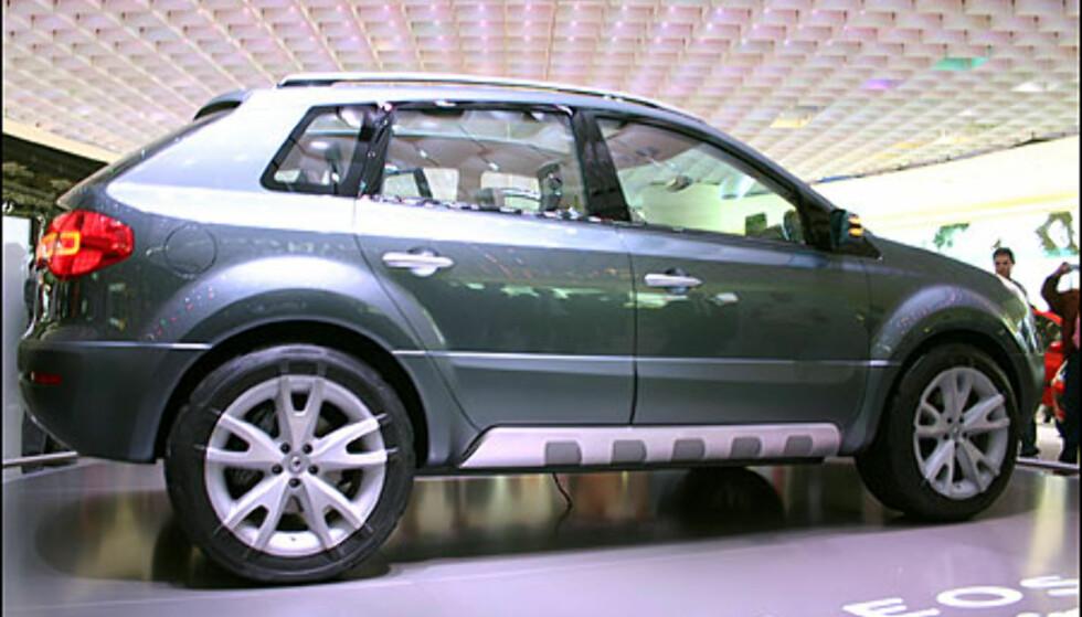 Renaults kommende SUV, her under navnet Koleos