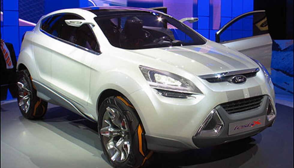 SUV-studie fra Ford: Produksjonsmodellen blir nok mindre spektakulær.