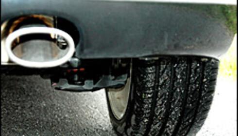 Ovalt eksosrør, brede dekk, tøffe hylselys. 207 GT er en lekker bil.