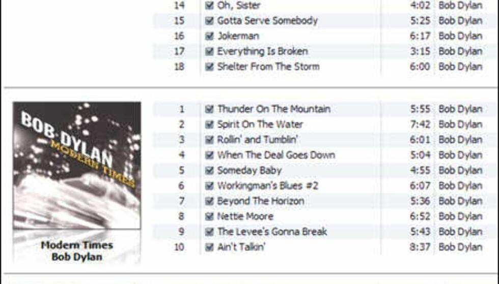 Mange vil hevde at den nye albumlisten er en direkte rip-off fra Windows Media Player 11. Apple føler kanskje at de ikke behøver å ha dårlig samvittighet?