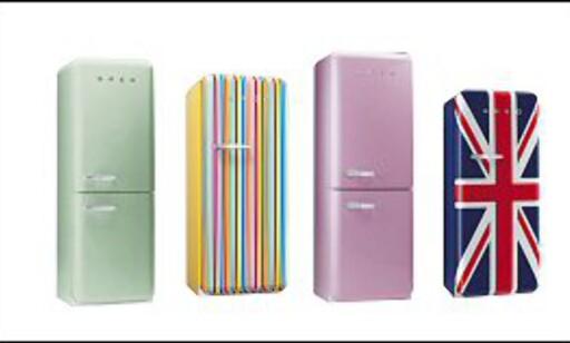 La deg inspirere av de vakre SMEG-skapene, og lek med ditt eksisterende kjøleskap mens du sparer til originalen.