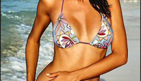 Her er tre eksempler på den fineste bikinien, ifølge DinSides lesere.  Foto: Victoria's Secret