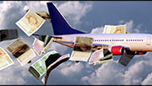 Fly billig over alt. Foto: Montasje: Per Ervland