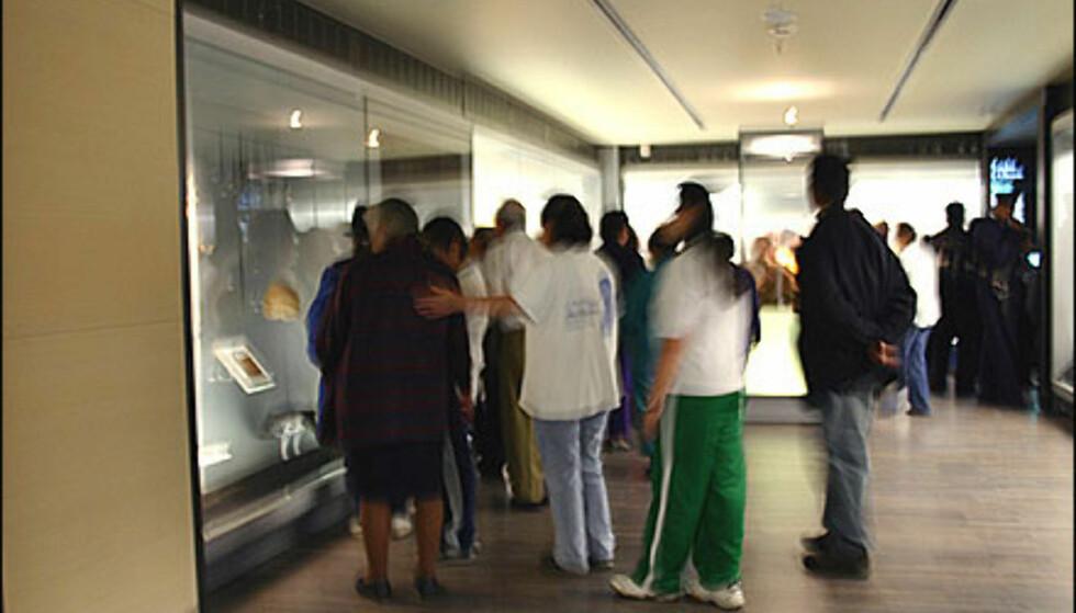 Sjekk ut når det er gratis adgang på museet. Her fra gullmuseet i Bogotá  Foto: Inga Holst Foto: Inga Holst