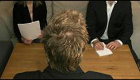 Stiller du også spørmål når du er på intervju? Illustrasjon: Per Ervland. Foto: Per Ervland