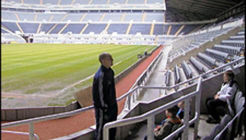 Besøk Newcastle Uniteds hjemmestadion, og drøm om livet som proffspiller.