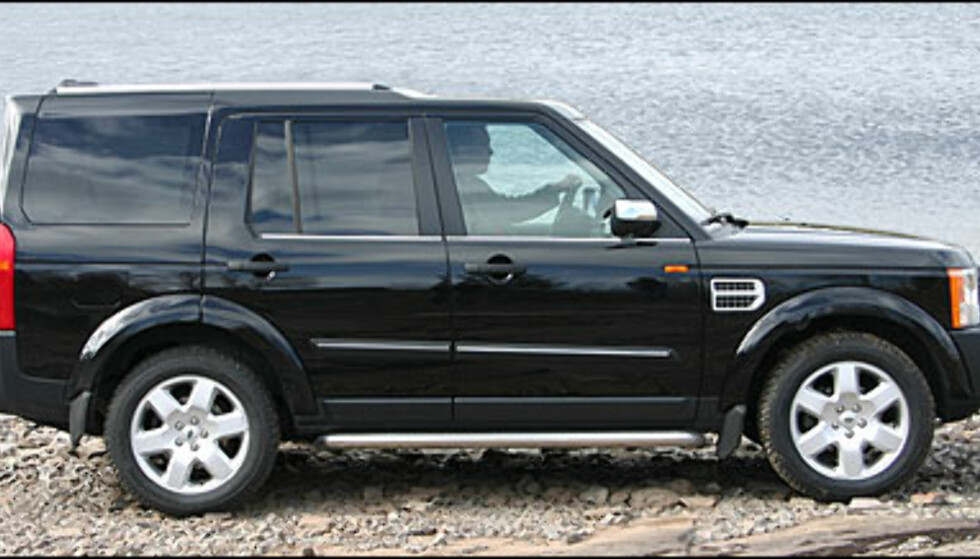 Store bilder Land Rover Discovery