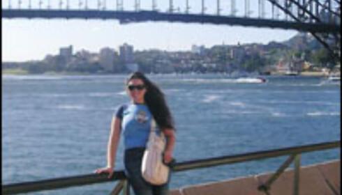 Cathy Capdeville jobbet i Sydney. Foto: Privat. Foto: privat