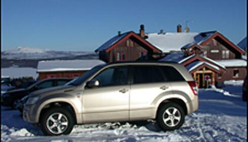 SUV på fjellet...