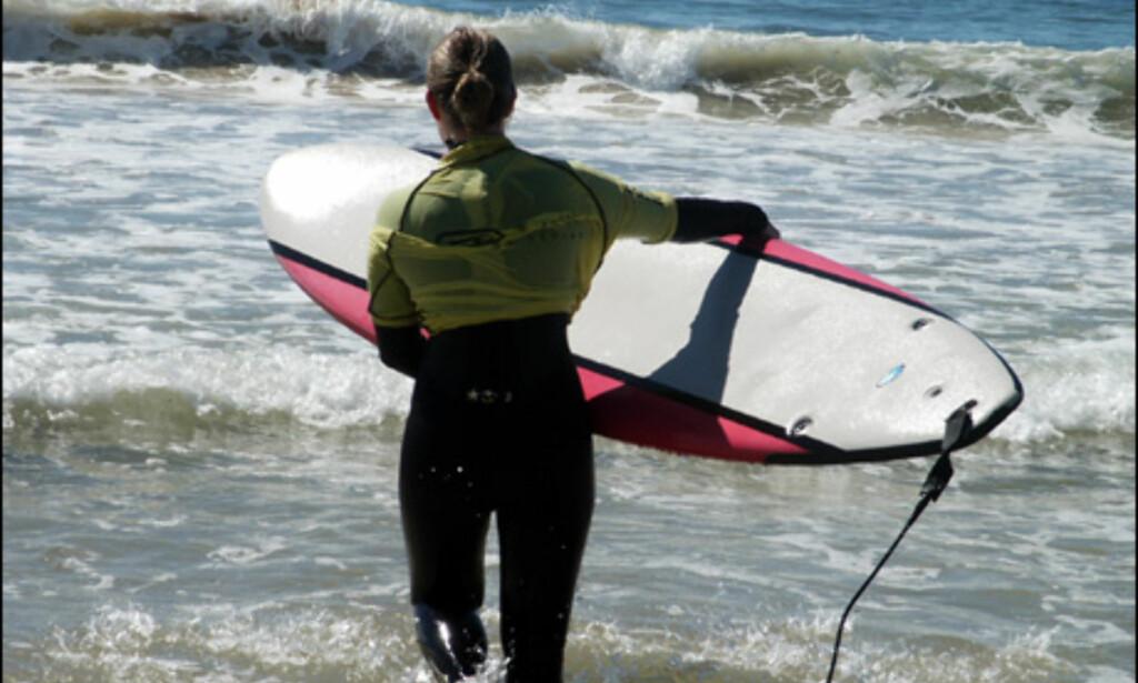 Jaybay er et surfeparadis, og er du nybegynner kan du ta timer.