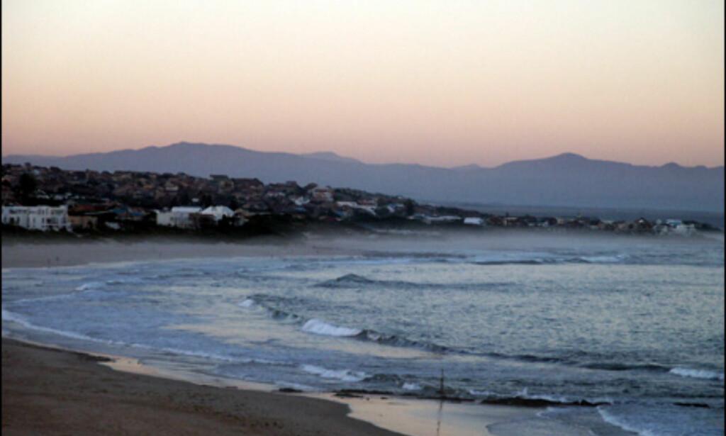 Varme bølger ruller inn fra Det indiske hav.