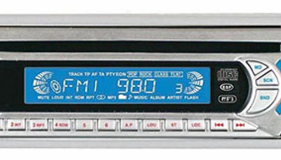 Er du bare ute etter en enkel bilstereo med USB-tilkobling for MP3-spillere, samt minnekortleser for SD-kort? Da kan kanskje denne spilleren fra Eltax være tingen. Den spiller også CDer med MP3-filer, og har støtte for RDS. ICE CR-550 finnes i mange norske nettbutikker, vi har sett den til under 700 kroner.