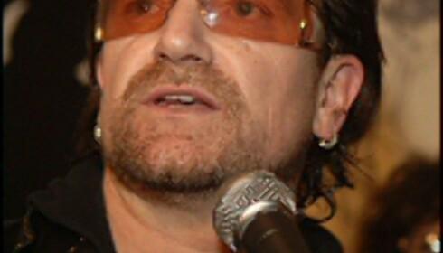 Bono har fått med seg store kommersielle aktører i kampen mot HIV/Aids.Illustrasjonsfoto: Brad Barket/Getty Images/All Over Press Foto: Brad Barket / Getty Images