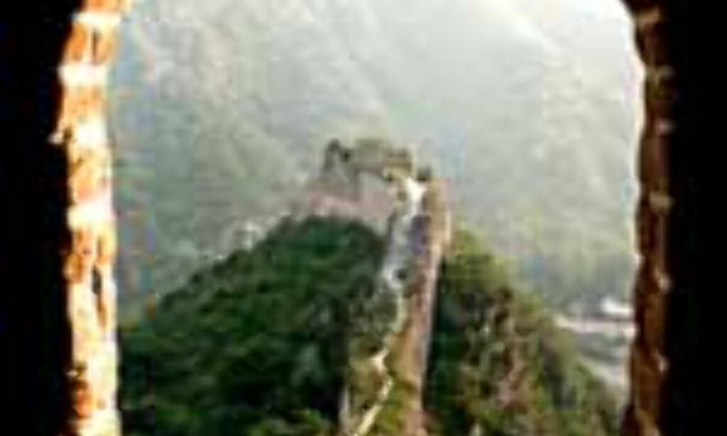 DinSides lesere mener at den kinesiske muren er verdens største underverk.<br /> <br /> <i>Foto: Dag Scheve</i> Foto: Dag Scheve