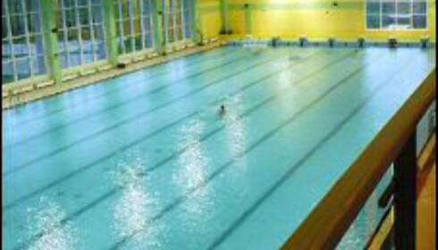 Basseng med olympiske dimensjoner. Foto: AquaCity