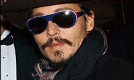 Heng ute med Johnny Depp i Paris.  Foto: Arnaldo Magnani/Getty Images/All Over Press Foto: Arnaldo Magnani/Getty Images/All Over Press