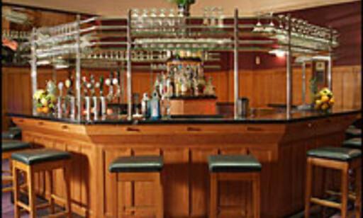 Bonos og The Edges Dublin-hotell The Clarence innholder både barer og restauranter. Her fra The Octagon bar.  Foto: The Clarence Foto: The Clarence Hotell