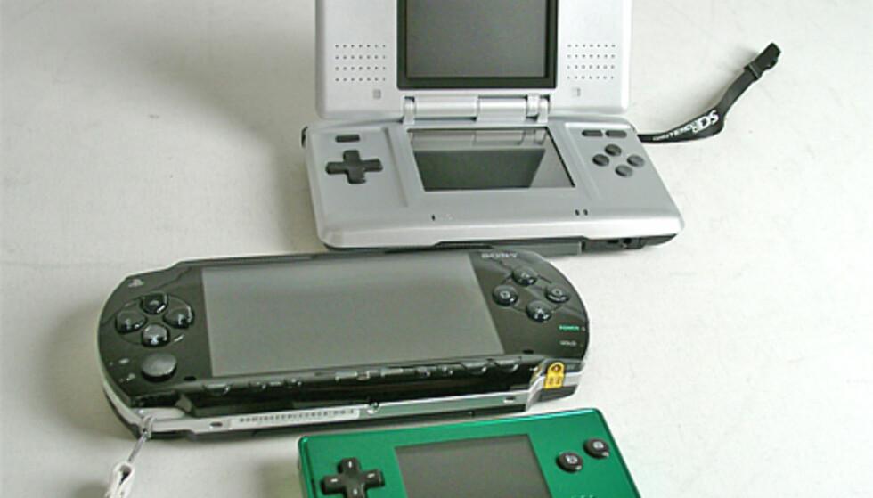 GameBoy Micro og venner