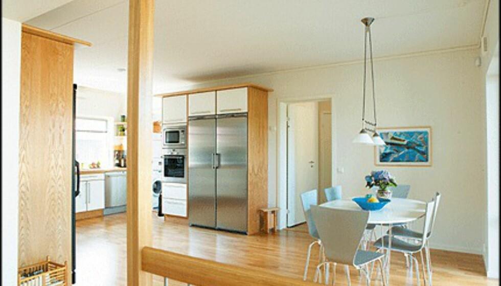 Kjøkkenet i Allegro.
