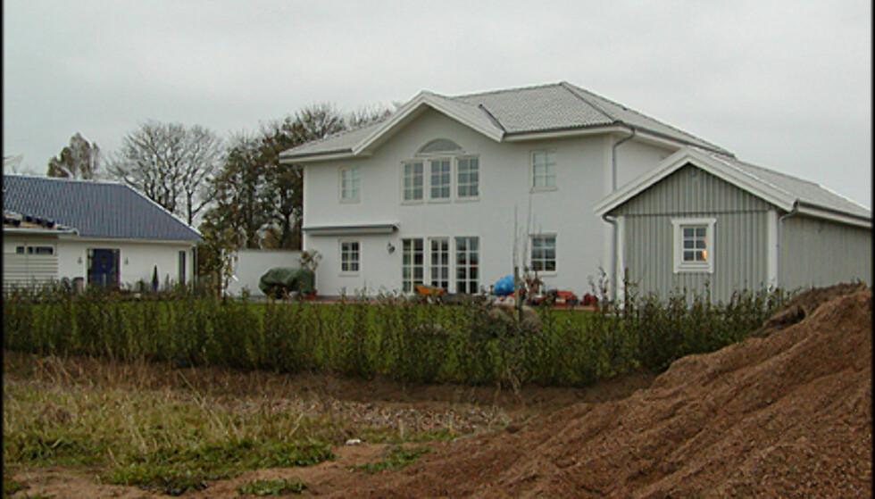 <strong>Fra produsenten VästkustVillan:</strong> Huset er utelukkende i pusset mur - og er lokalisert i Helsingborg.