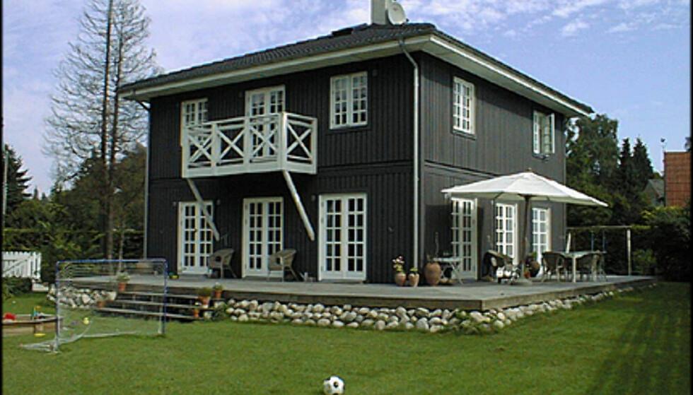 <strong>Fra VästkustVillan:</strong> Huset Halborg er i to hele etasjer.