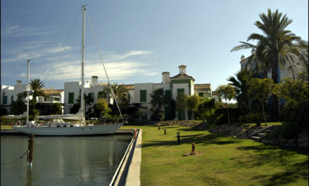 Sotogrande er luksus, men hva med en privat dock til yachten i haven? Foto: Vibeke Montero