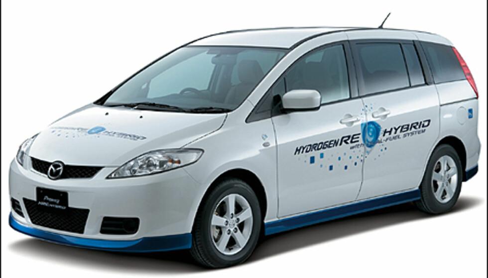 Mazda 5 hydrogen/hybrid