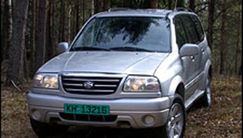 TEST: Suzuki Grand Vitara XL7