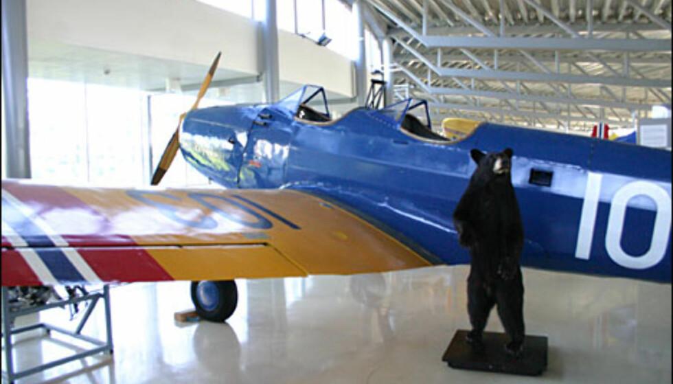 """Fairchild M-62A. Dette ble brukt som treningsfly ved """"Little Norway"""" i begynnelsen av 2. verdenskrig."""