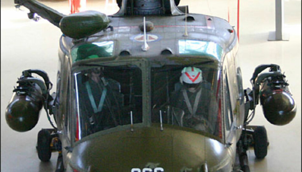 Bell UH 1B Iroquois. Transporthelikopter.