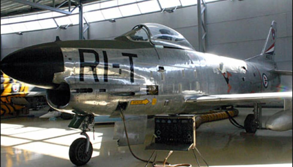 North American F-86K Sabre.