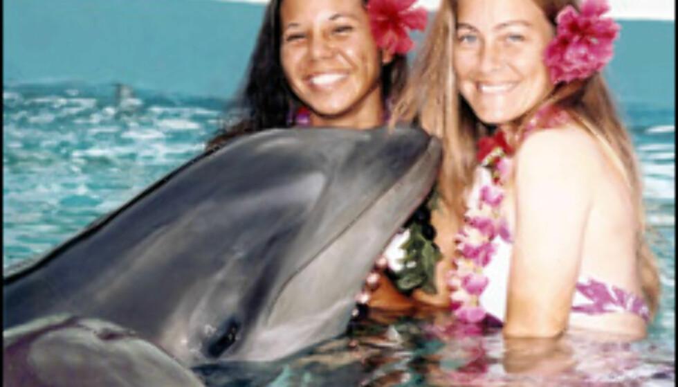 Hvis flere land gjør som Costa Rica, blir det ikke mer svømming med delfiner. Foto: Newscast Foto: Newscast