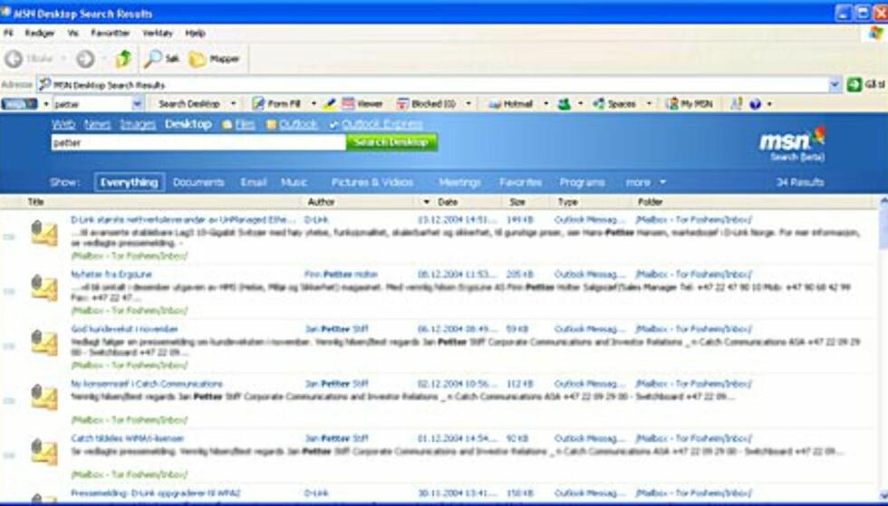 MSN Toolbar - nå på norsk