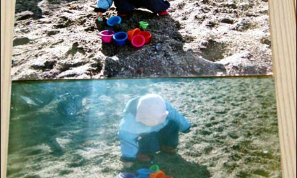 Best & verst på dette bildet: Fujifilm (øverst) vs. Next undervannskamera.