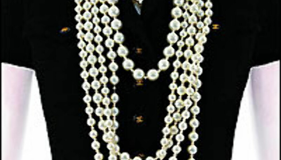 Klassiske Chanel-detaljer. Se utstillingen på The Metropolitan Museum of Arts i sommer.<br /> <br /> <i>Foto: The Metropolitan Museum of Arts</i> Foto: The Metropolitan Museum of Arts - ikke til gjenbruk