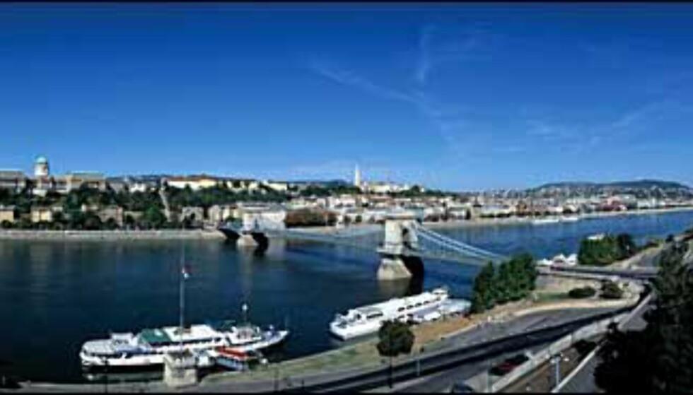 Budapest Panorama. Foto: Det ungarske turistkontoret Foto: Det ungarske turistkontoret