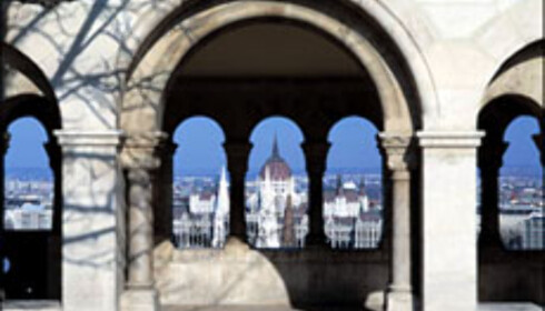 Utsikt til Parlamentet fra Fishermen's Bastion. Foto: Det ungarske turistkontoret Foto: Det ungarske turistkontoret